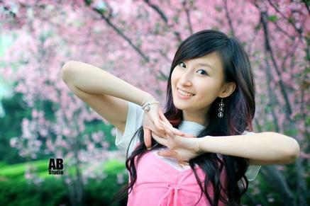 фото красивой китайки
